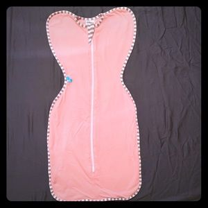 Love To Dream Swaddle Up Pink Sz M
